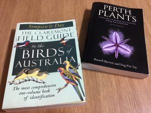 Perth Plants Birds of Australia books
